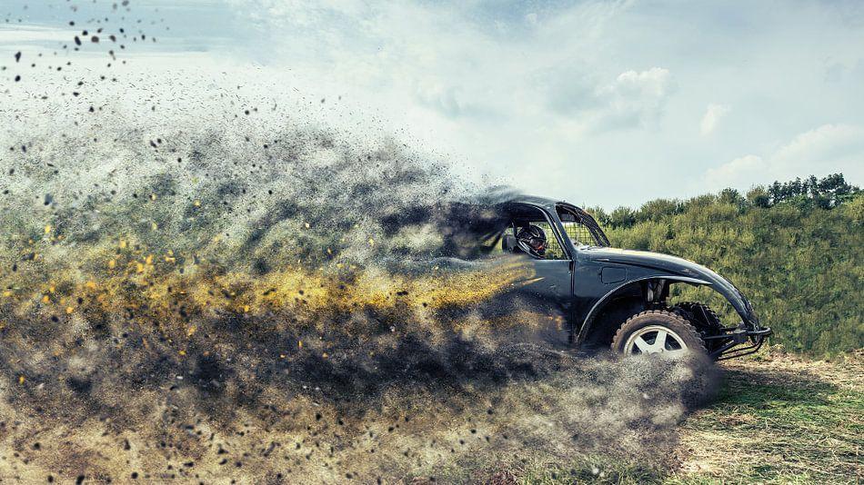 Autocross in actie van Marco Bakker