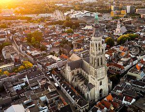 Sonnenaufgang in Breda von Sebastiaan van der Ham