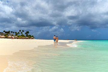 Manchebo Beach Aruba van Wim van Berlo