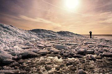 IJslandschap von Fokje Otter