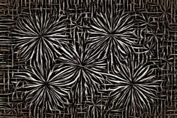 Fleurs en acier sur GOOR abstracten