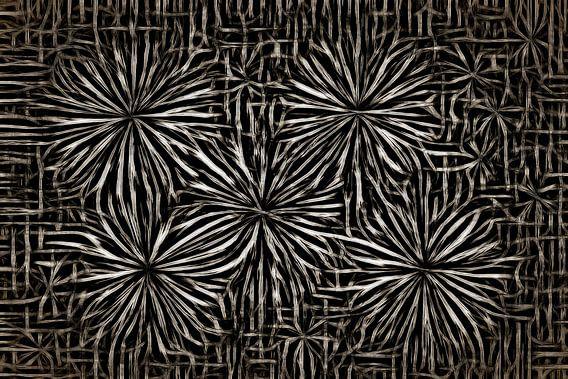 Steel Flowers van GOOR abstracten