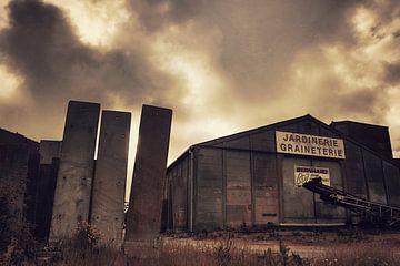 """Ghost town France """"Oude Fabriek"""" van"""