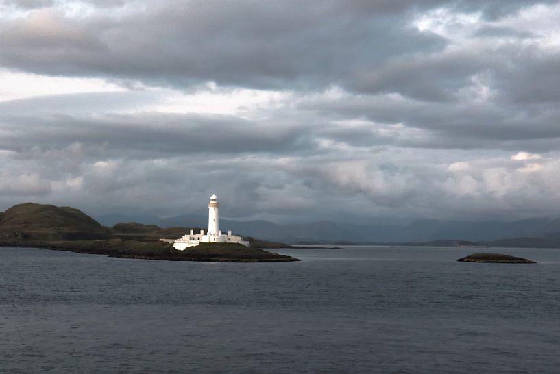 Vuurtoren van Eilean Musdale (Schotland) van Eddie Meijer