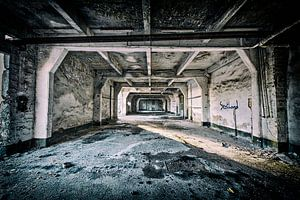 Industrieanlage verlassen van