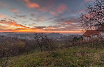 Sunrise landscape Croatia von Marcel Kerdijk