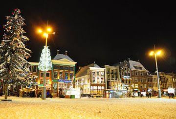 Grote Markt in Groningen van Kor Brouwer