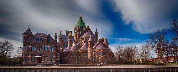 Kathedraal St Bavo te Haarlem van Brian Morgan