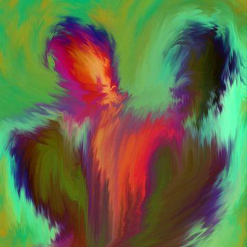 Kleurrijke mensen van