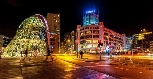 Eindhoven Lighttown von Edwin van Aalten