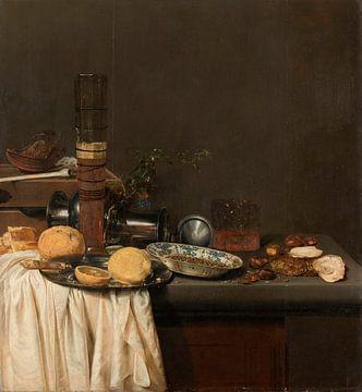 Stilleben mit einem hohen Bierglas, Jan Jansz. van de Velde (III)