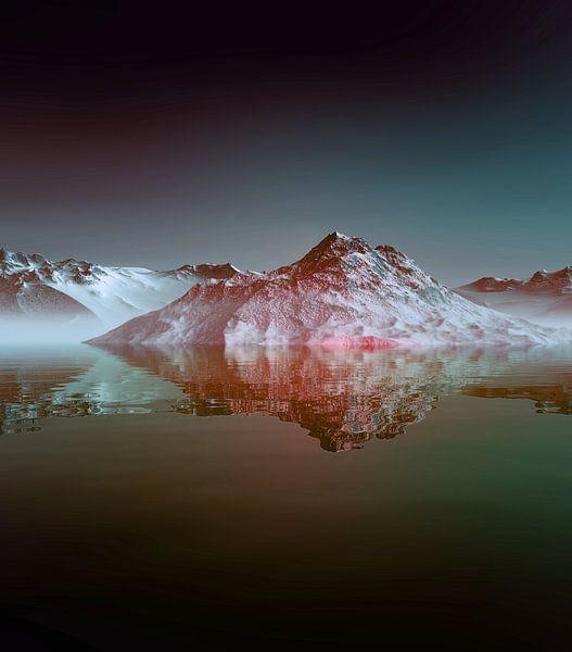 Montagnes Enneigées 2 van Angel Estevez