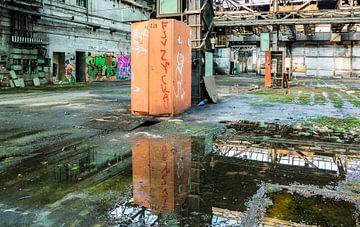 Lieu perdu d'une ancienne usine en ex-RDA sur Animaflora PicsStock