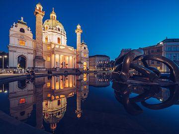 Wien - Karlskirche von Alexander Voss