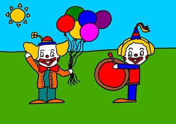 SUZ kermis clown van AG Van den bor