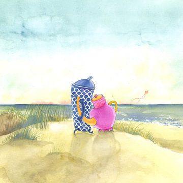 Strand liefde
