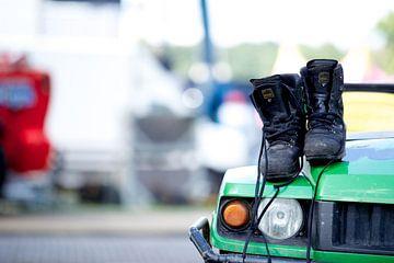 Boots!  van