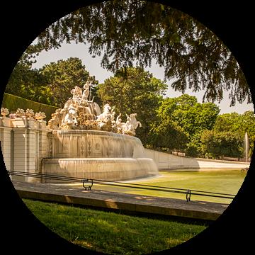 fontein schönbrunn van Bart Berendsen