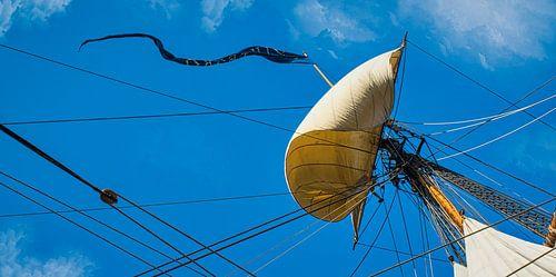 Bollende zeilen, Sail Amsterdam