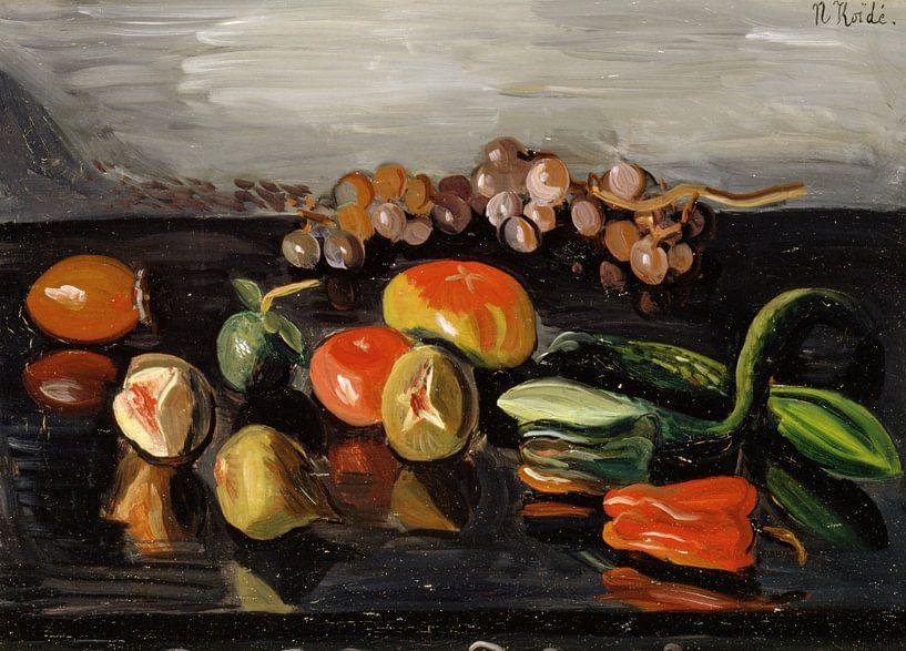 Narashige Koide~Stilleben mit Gemüse (2) von finemasterpiece