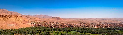 Oase in de woestijn, Marokko