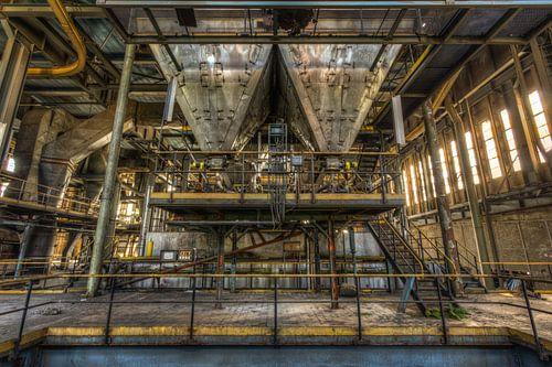 Symmetrie in energiecentrale