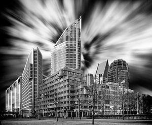 Skyline nieuw Den Haag van