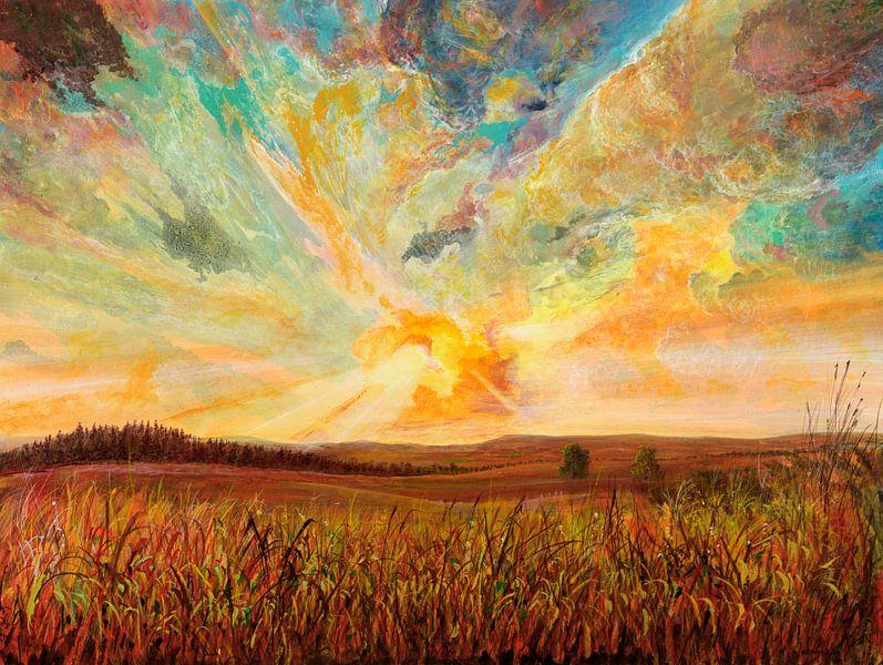 Farbtumult von Silvian Sternhagel