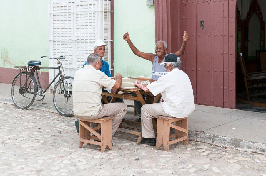 Gezelschapsspel oude mannen