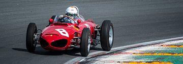1961 Sharknose Ferrari 156 sur