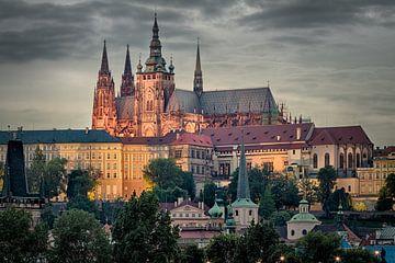 Hradschin in Prag von Jan Schuler