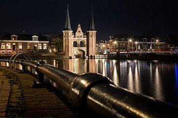 Der Wasserturm von Sneek am Abend beim Strudel von Fotografiecor .nl
