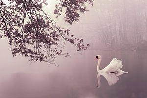 Romantic Autumn mist sur Elianne van Turennout