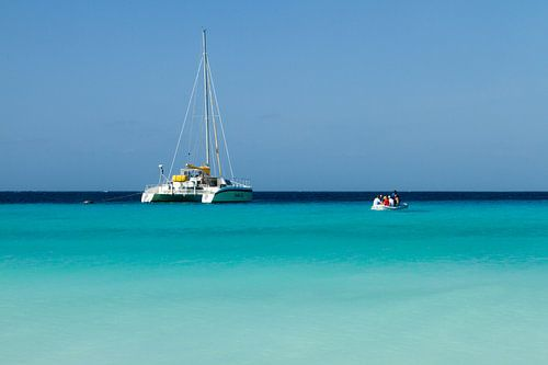 Catamaran bij klein Curacao no. 3