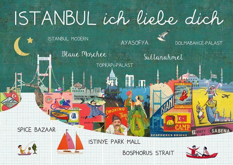 Istanbul – ich liebe dich van Green Nest