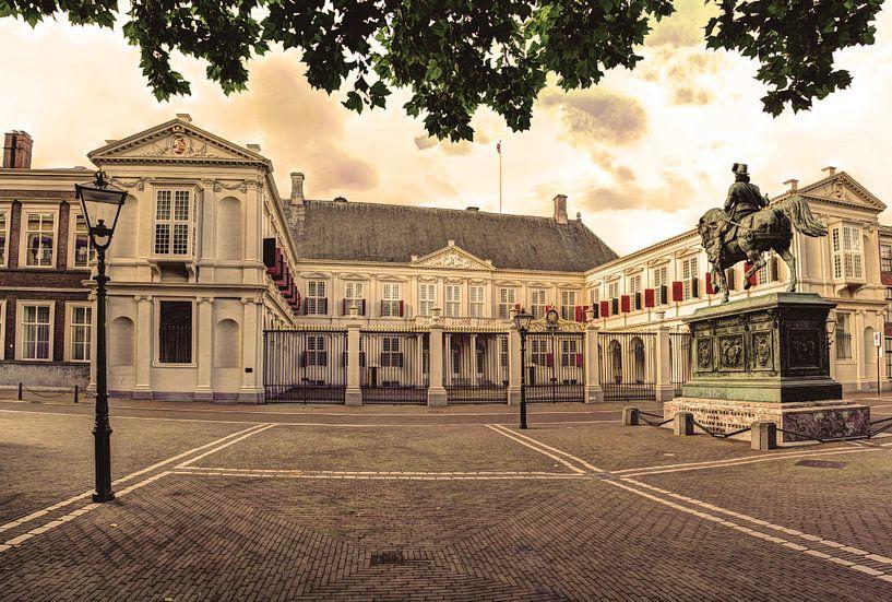 Noordeinde Palace Den Haag Die Niederlande von Hendrik-Jan Kornelis
