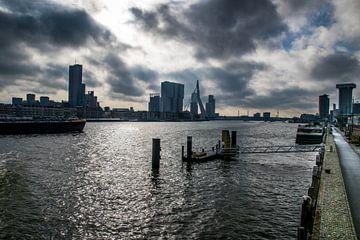 Skyline-Ansicht über Rotterdam von Photography by Naomi.K