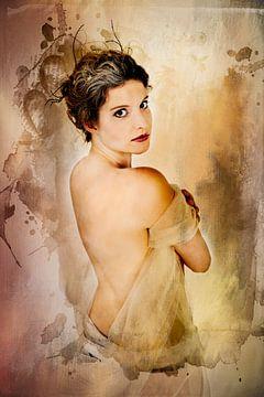 Jonge vrouw 1 van Henny Verbeek