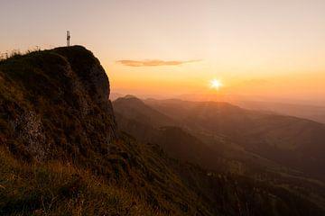 Zonsondergang in de bergen van MindScape Photography