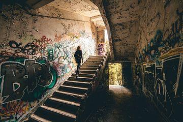 Urban exploring verlaten gebouwen België van Peter Haastrecht, van