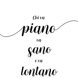 Langsam, aber sicher - Italienisch von Melanie Viola