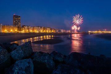 Vuurwerkfestival Oostende van Wim Byl