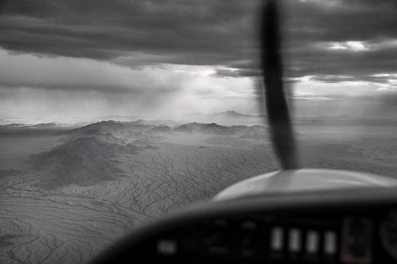 Arizona moond landscape van Daan Steinhaus