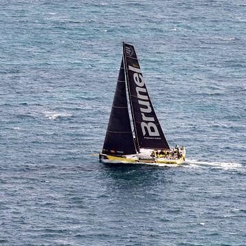 Volvo Ocean Race 2017 Start Alicante van Bob de Bruin