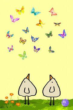 99 Schmetterlinge-Piepvogel von Marion Tenbergen