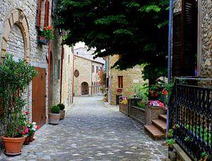 Een typisch Italiaans straatje.
