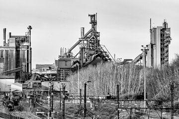 Das Ende der Lütticher Stahlindustrie von Marianne Dirix
