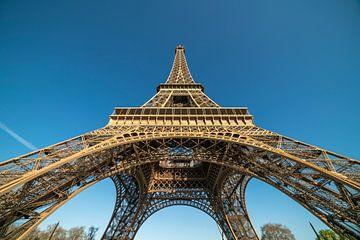 Eiffeltoren in Parijs, Frankrijk van Peter Schickert