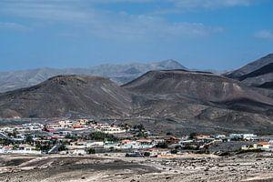 Dorpje Taralalejo op het eiland Fuerteventura