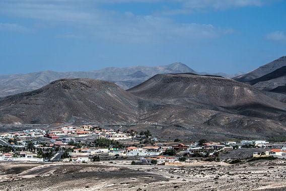 Dorpje Taralalejo op het eiland Fuerteventura   van Harrie Muis